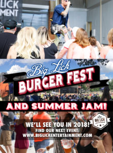 Burger Fest see you in 2018