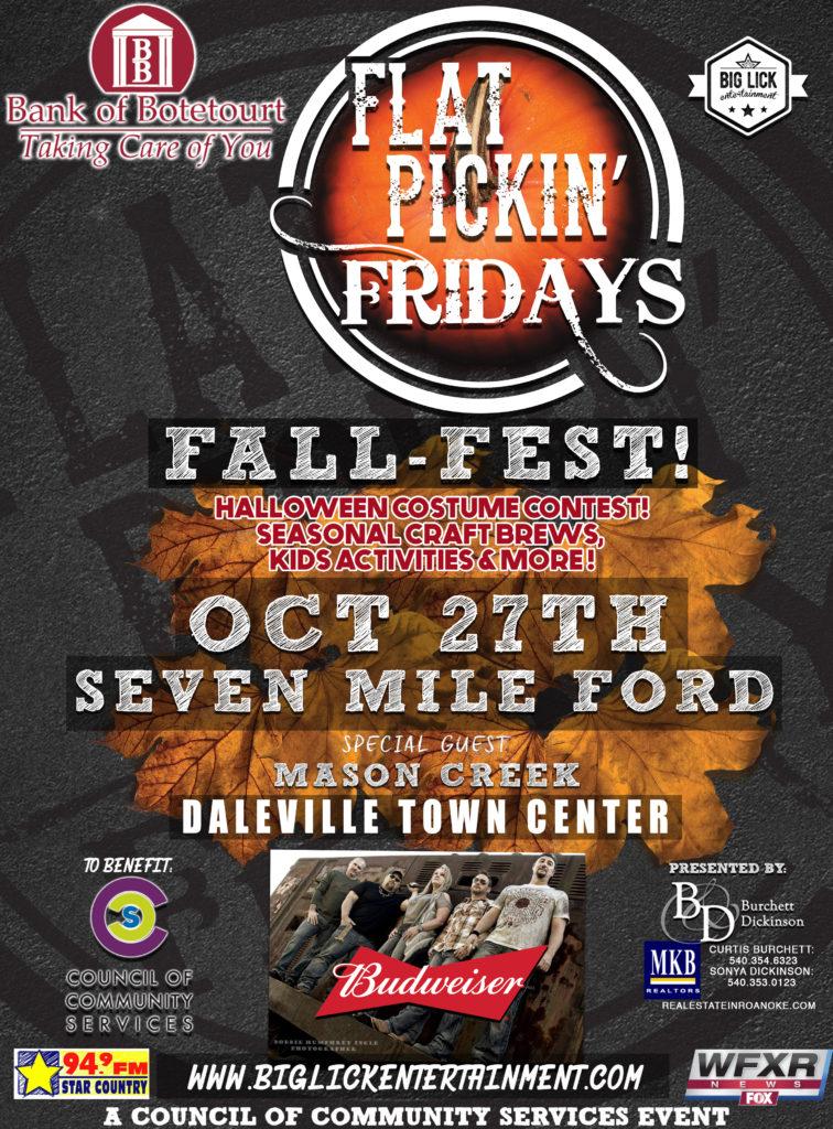Flat Pickin Fridays Print Ad FALL
